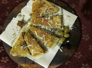 Yemenite Bread in Safed