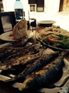Galician sardines