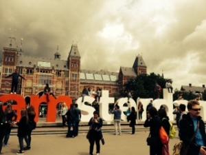 Rijkmuseum and plaza