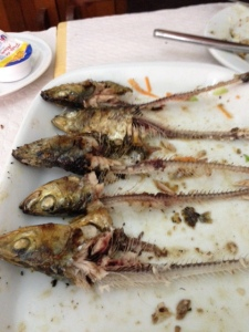 Sardines- the after view